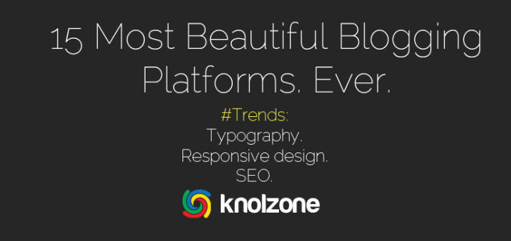 knolzone best blogging tools