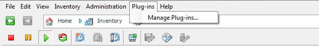 VI Client Manage Plugins